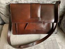 Stunning Man Bag Shoulder Bag Conker Colour Attache Bag