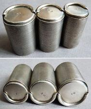 Porte louis porte-monnaie en argent massif Russie 19e siècle silver box Russe
