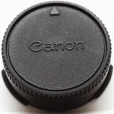 Genuine Canon Rear Lens Cap For FD FL Mount Lenses