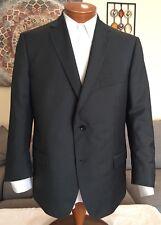 NEW Stunning Z Zegna Mens Gray Wool Mohair Dual Vent 2 Btn Blazer Sz 46 R