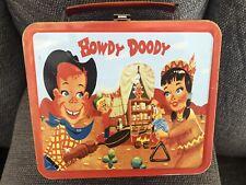 1995 Howdy Doody Metal Lunchbox by G Whiz - Brainiaks
