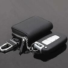Unisex PU Leather Key Holder Case Keychains Pouch Bag Car Wallet Key Ring FW