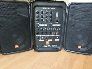 JBL EON 208P BESCHALLUNGSSYSTEM + AKG Mikrofon