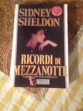 SIDNEY SHELDON RICORDI DI MEZZANOTTE DISCRETO/BUONO!!!