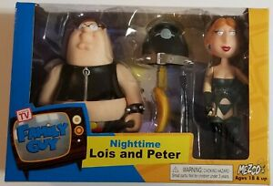FAMILY GUY Nighttime Lois & Peter Griffin Mezco Toy Collectible Figure Set NEW!
