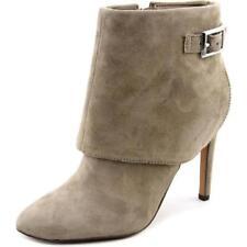 Botas de mujer botines de tacón alto (más que 7,5 cm) de color principal gris