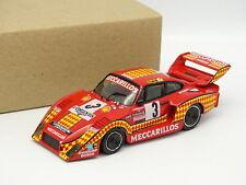 Record Kit Montado Resina 1/43 - Porsche 935 Turbo 1000km Dijon 1980 Meccarillos