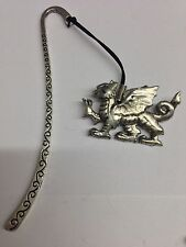 Welsh Dragon PP-G51 Pattern Bookmark 3D English pewter charm