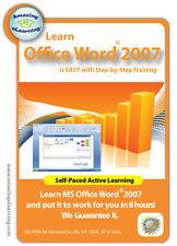 Learn Microsoft  Word 2007 in a few hours - Guaranteed