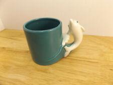 VTG Bergschrund Seattle 1990 Mug Dolphin Handle Sea Foam Green