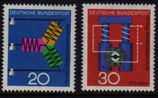 W Germany 1966 Science SG 1426-1427 MNH