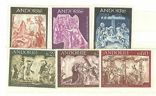 TIMBRES ANDORRE FRANCE  YVERT N° 184 A 86 + 191 A 93