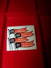 Orioles Match Pack Pennants 4-Champ's Vintage 1971 unused