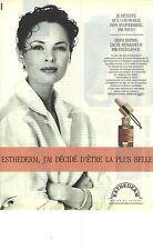 PUBLICITE ADVERTISING 1990   ESTHEDERM cosmétiques derm repair