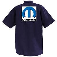 Mopar - Mechanics Graphic Work Shirt  Short Sleeve