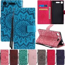 For Sony Xperia XZ1 XA1 ULTRA L1 XA Wallet Stand Leather Card Holder Case Cover