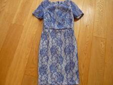 BNWOT NEW LOOK Size 8 BLUE smart/ PROM wedding/ party dress