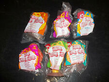 MCDONALDS HAPPY MEAL JUNGLE BOOK 1997 LOT OF 6