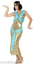 Déguisement Femme Reine Egypte Cléopatre XS/S 36/38 Costume Adulte Egyptienne