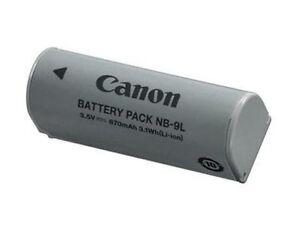Original Akku NB9L Canon NB-9L IXUS 1000 HS 1100 HS 500 HS 510 HS