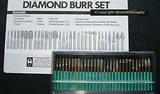 30 Jewelry making tools diamond drill bits and shaping tips 120 med grit
