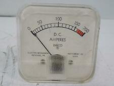 EMICO DC-AMPERES 0-200A PANEL METER