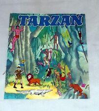 Trasferelli Calcarelli di Tarzan originale anni '70 con un scena della Giungla