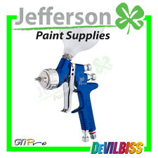 Devilbiss GTI PRO Blue with both 1.3mm & 1.4mm Tips T110 Aircap - Spray Gun