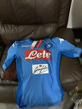 OFFICIAL Brand New Medium Napoli Home Shirt 2018 BY Kappa rrp on tag
