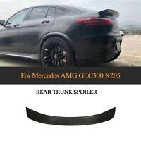Spoiler Carbon Heckspoiler Abrisskante Lippe Flügel für Mercedes GLC300 Bj16-19