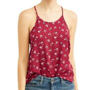 NoBo Women's Floral Printed High Neck Tank Cami - NWT - Sizes - S, M, XL