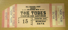 1978 The Tubes Stockton Concert Ticket Stub Fee Waybill White Punks On Dope