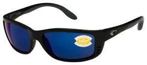 Costa del Mar Zane Matte Black Frame / Blue Mirror 580P Lenses ZN 11 OBMP