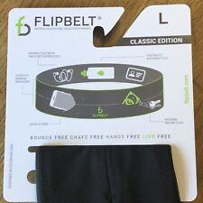 FLIPBELT Running Jogging Gym Exercise Belt Elastic Neoprene Pockets  Phone Keys
