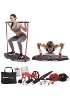 Fusion Motion Portable Gym with 8 Accessories Including Heavy Resistance Bands,