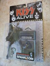 KISS ALIVE Gene Simmons Action Figure CATMAN MISPRINT McFarlane Toys NIB
