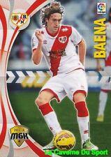 389 BAENA ESPANA RAYO VALLECANO CARD MEGACRACKS 2016 PANINI