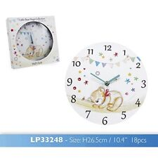 Little Bears Hugs Wall Clock