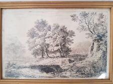 Gravure signée Charmier 1844 Engraving signed Charmier 1844 Jean-Claude Charmier