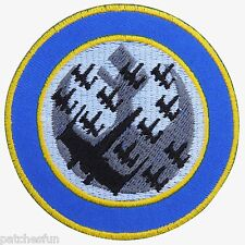 Star Wars Wraith Squadron Emblem Badge Sew Embroidered Iron on Patch Jacket 1395