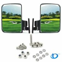 Golf Cart Mirrors Side Rear View For Club Car Ezgo Yamaha US STOCK