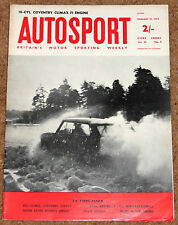 Autosport 19/2/65*16 CYLINDER COVENTRY CLIMAX F1 ENGINE - HILLCLIMB REVIEW