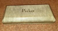 Vintage Parker 51 50's original excl. lizard shell box only