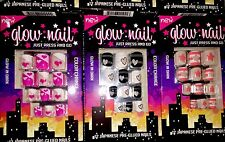 6 Glow In The Dark Nail Tip Glue On And 6 Mood Change Color Plus 2 Adult Tips