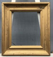 Bilderrahmen Biedermeier Antique Antik zum restaurieren Gold 34 x 29,2  cm