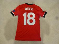 Southampton FC #18 Harrison Reed Europa League Match Issued Home Jersey COA