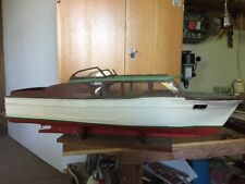 Antique Model Power Boat