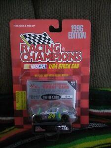 Jeff Gordon 1:64 chrome chase rare 1996 racing champions