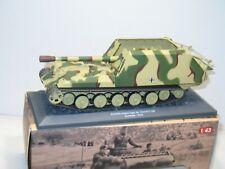 IXO ALTAYA 1:43, char geschutzwagen TIGER 17 cm     militaire ref: 49