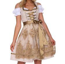 0600 Dirndl Oktoberfest German Austrian Dress Sizes: 4.6.8.10.12.14.16.18.20.22